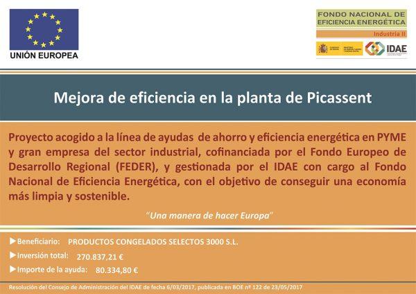 Mejora de Eficiencia en la planta de Picassent