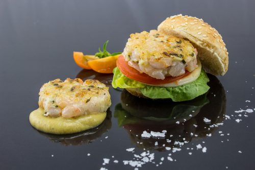 Shrimp Mini Burger